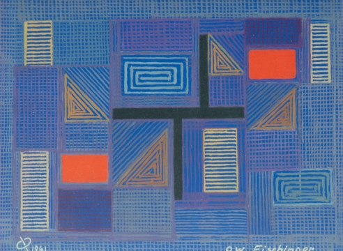 OSKAR FISCHINGER (1900-1967), Abstraction 556, 1961