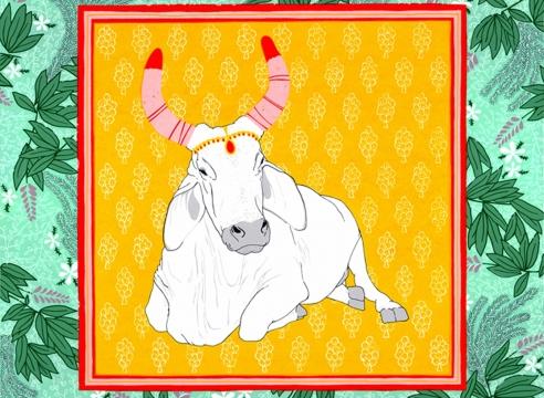 CLAUDIA BORFIGA, Jungle Cow