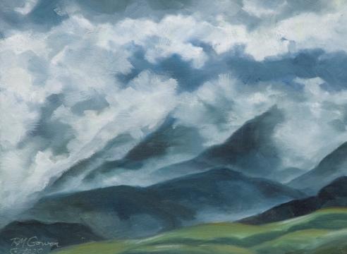 ROBIN GOWEN , Clouds Break, 2020