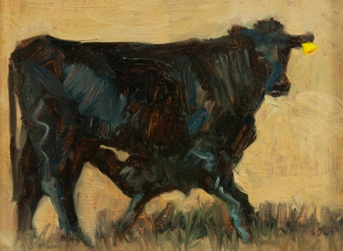 MEREDITH BROOKS ABBOTT, Cow and Calf, 2019