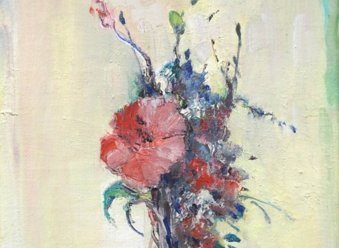LEON DABO (1864-1960), The Blue Vase, 1952