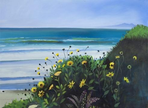 HANK PITCHER, Studio View, Storm Surf, 2021