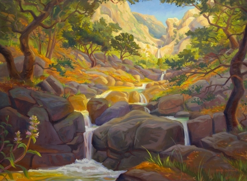 KEVIN GLEASON, The Path to Seven Falls, OAK GROUP ICONS OF PRESERVATION