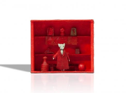VIRGINIA McCRACKEN, Seeing Red, 2020