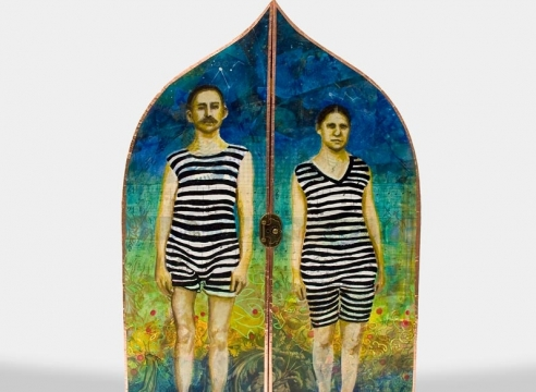 HOLLI HARMON , Untitled (Sun Goddess Retablo), 2020