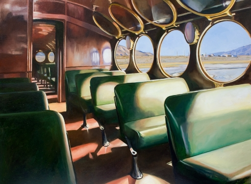 PATRICIA CHIDLAW, Ghost Train, 2020