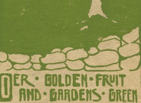 NELL BROOKER MAYHEW (1876-1940), Our Golden Fruit, c. 1920