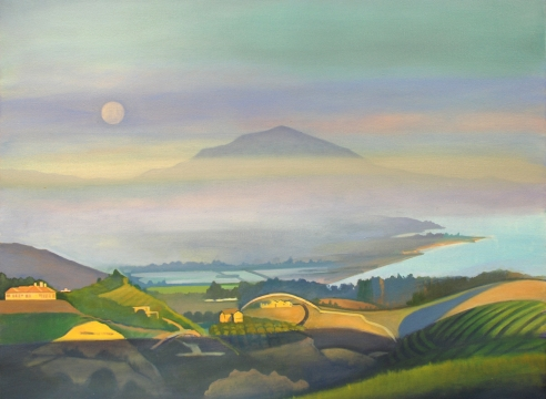 Hank Pitcher, Moon Over Ortega Ridge