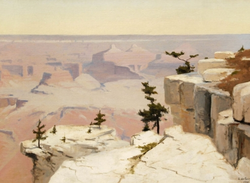 LOCKWOOD DE FOREST (1850-1932), Grand Canyon, 1910