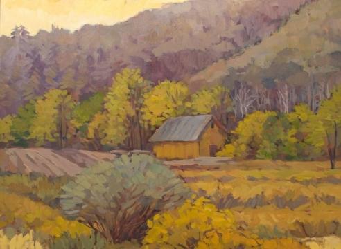 WHITNEY BROOKS ABBOTT, Yellow Barn