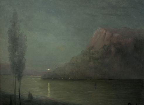 LEON DABO (1864-1960), Storm King on the Hudson, c. 1900