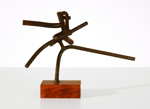 SIDNEY GORDIN (1918-1996), 12-29-57, 1957