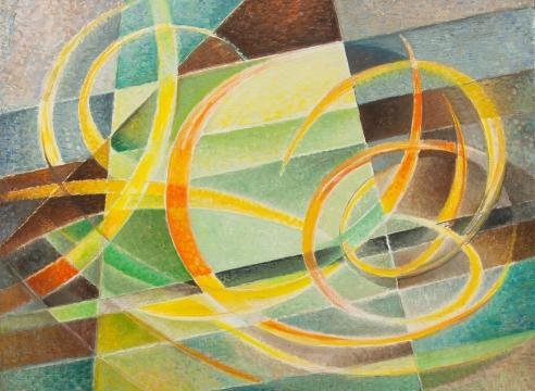 WERNER DREWES (1899-1985), Contrasting Rhythm, 1980