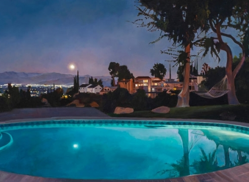 PATRICIA CHIDLAW , Moon in the Pool, 2021