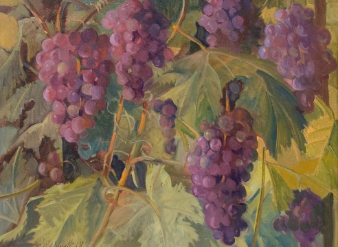 MEREDITH BROOKS ABBOTT, Grapes, 2018