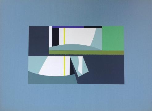 SIDNEY GORDIN (1918-1996), Paper Construction, c. 1970s