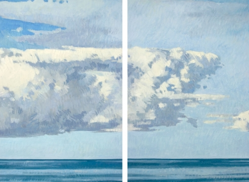 NICOLE STRASBURG, February Storm - Quadtych, 2013 for The Winter Salon, 2021