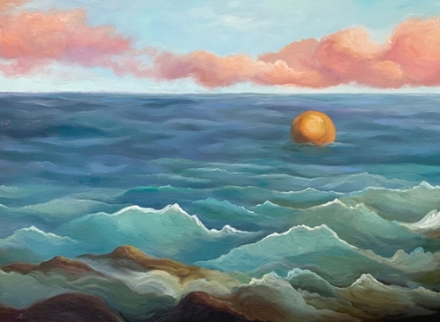 PHOEBE BRUNNER , Out To Sea, 2020
