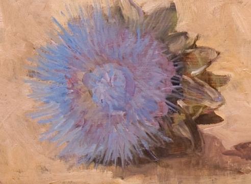 MEREDITH BROOKS ABBOTT, Artichoke Flowers, 2019