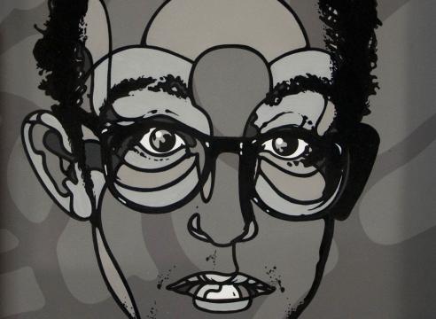 David Flores, Keith Haring, 2017