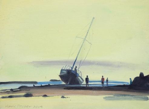 HANK PITCHER, Shipwreck III, 2019