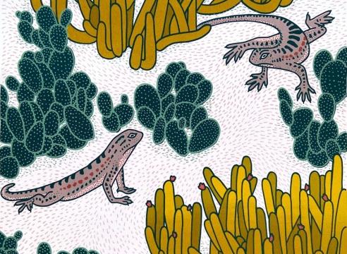 CLAUDIA  BORFIGA, Lizard Play