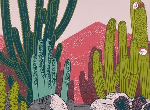 CLAUDIA BORFIGA , Cactus Garden, 2019