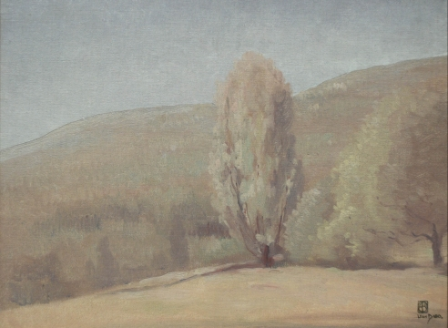 LEON DABO (1864-1960), The Catskills from an Old Orchard, c 1900