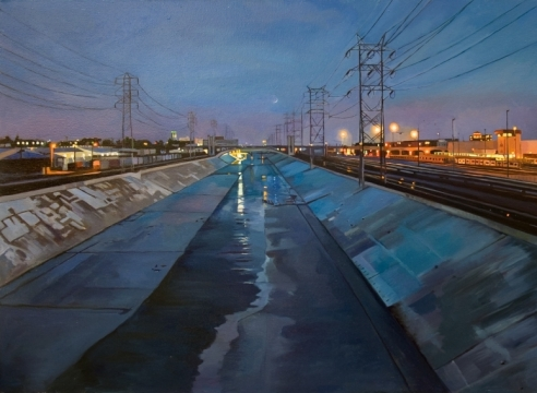 Patricia Chidlaw's Blue River for MASTERWORKS exhibition