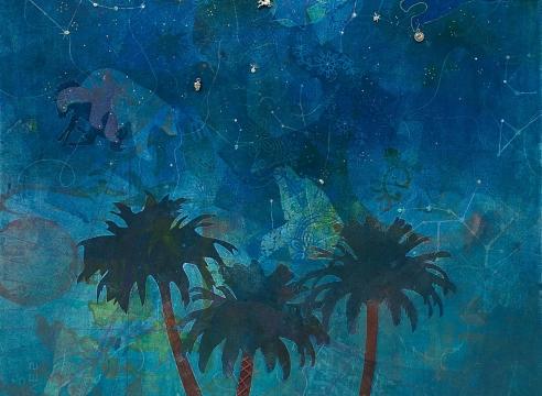 HOLLI HARMON, Starry Night, 2020