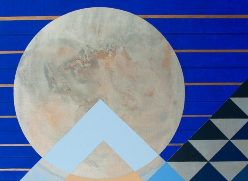 JULIKA LACKNER, Blue Moon I, 2020