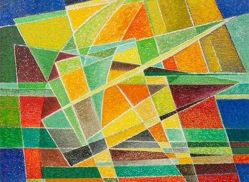 WERNER DREWES (1899-1985), Winter Festivity, 1979