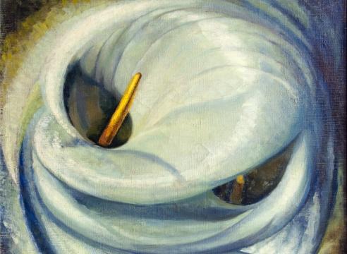 LYLA MARSHALL HARCOFF (1883-1956), Calla Rhythms, 1932