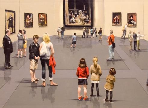 MICHAEL DVORTCSAK (1938-2019), The Prado, 2009