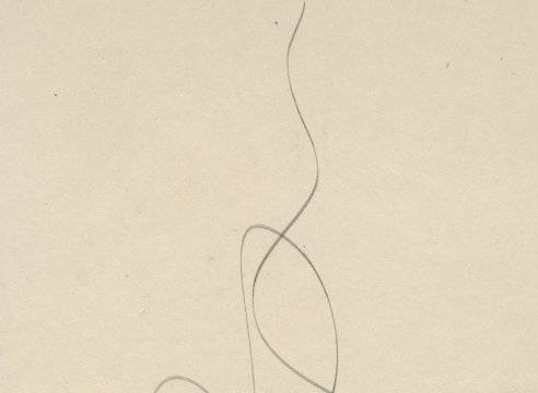 SIDNEY GORDIN (1918-1996), Drawing 43, c. 1943