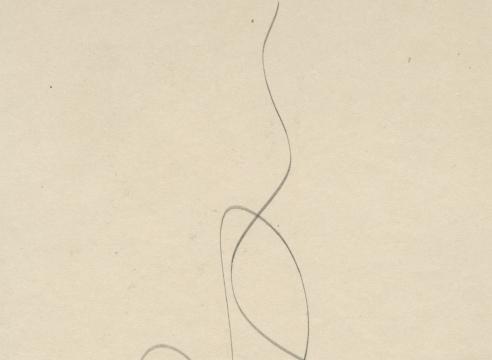 SIDNEY GORDIN (1918-1996), Drawing 43, c. 1943
