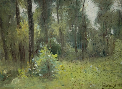 COLIN CAMPBELL COOPER (1856-1937), Quiet Woods