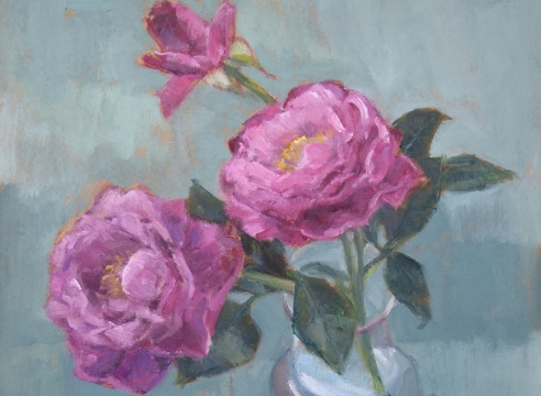 NINA WARNER , Roses 1, 2020