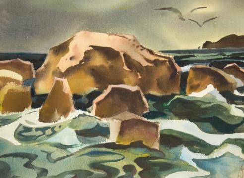 MILFORD ZORNES (1908-2008)
