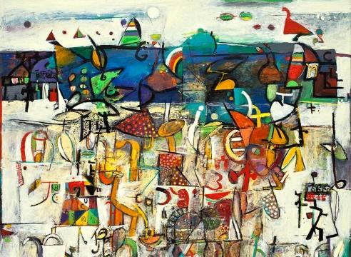 WOSENE KOSROF, Sea of Words, 2014