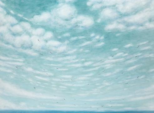 LIZ BRADY, Above the Sea, 2020