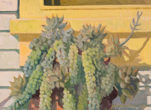 MEREDITH BROOKS ABBOTT, Succulents, 2018
