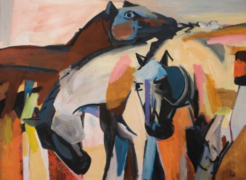 CHANNING PEAKE (1910-1989), Horse Chatter, c. 1960s