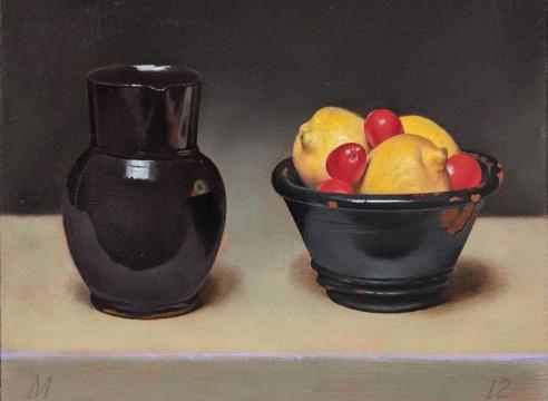 MARTHA MAYER ERLEBACHER (1937-2013), Red, Yellow, Black, 2012