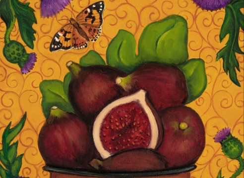 ANGELA PERKO, A Few Figs From Thistles, 2020