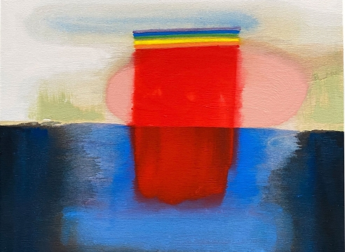 MARIA RENDON , Red Rain, 2020