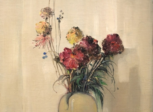 LEON DABO (1864-1960) , Vase Blanc, 1937