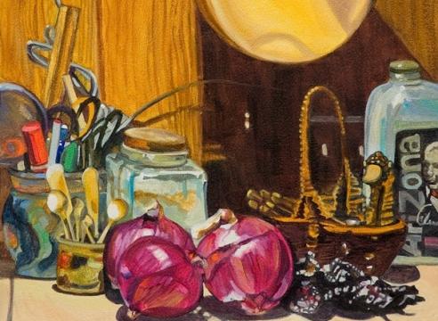 ROBIN GOWEN , Red onions,