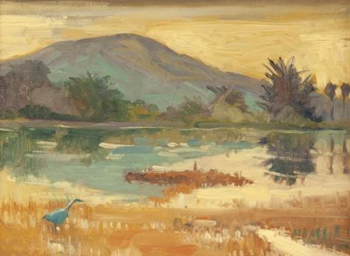 MEREDITH BROOKS ABBOTT, Egret
