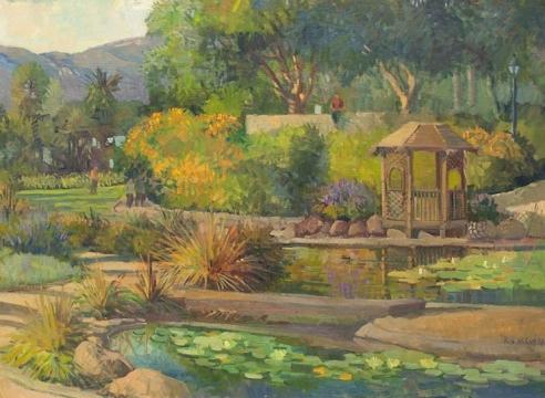MEREDITH BROOKS  ABBOTT , Alice Keck Park Memorial Garden, 1999